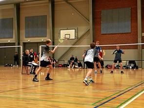 Badmintonhold rykkede en plads op