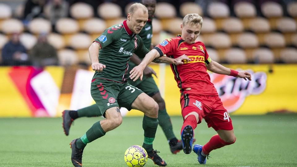 Kasper Pedersen er tilbage i startopstillingen for AaB. Arkivfoto: Henrik Bo