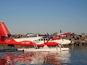 På sightseeing med den første vandflyver i Skagen