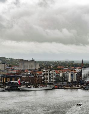 Vejret får skylden: Langt færre end forventet gæstede Tall Ships