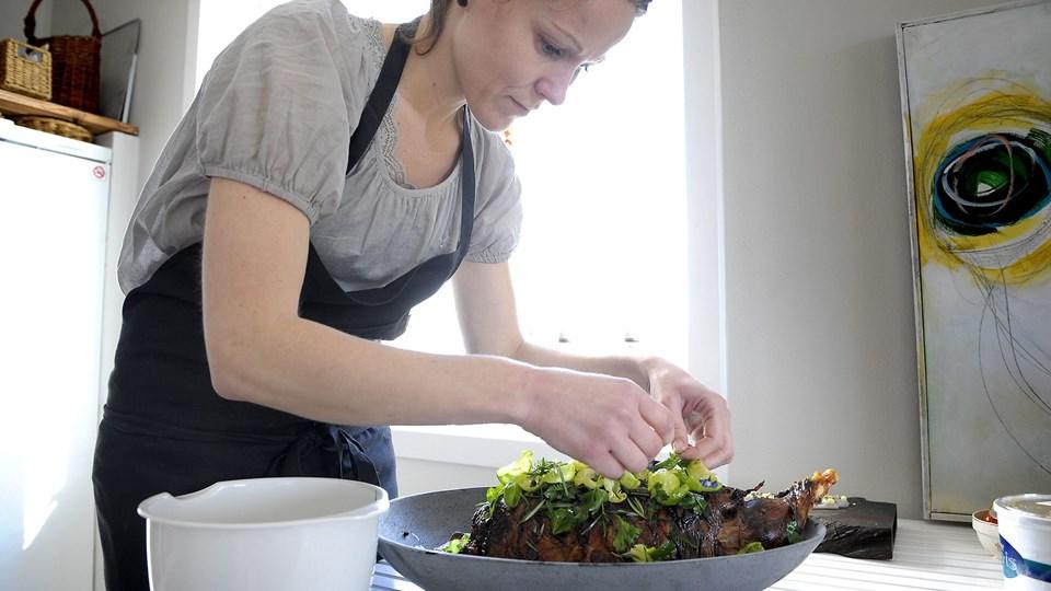 Kok Anita Klemensen byder på gourmetmenu i Nykøbing fredag den 9. oktober. Arkivfoto