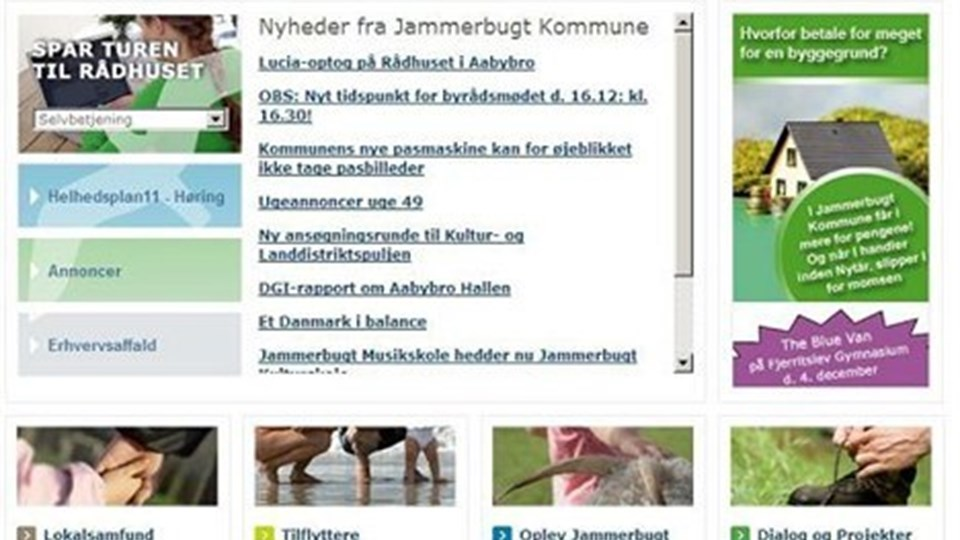 Det har hele tiden været målet, at hjemmesiden skulle have fem netkroner, forklarer udviklingschef Nöel Mignon.