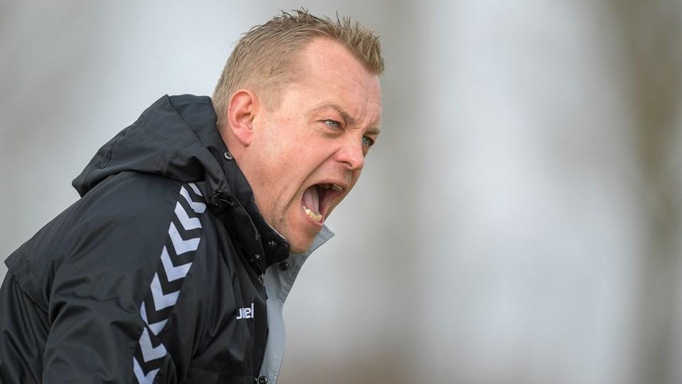 Bo Zinck var ikke tilfreds efter nederlaget i Skive. Arkivfoto: Lars Pauli