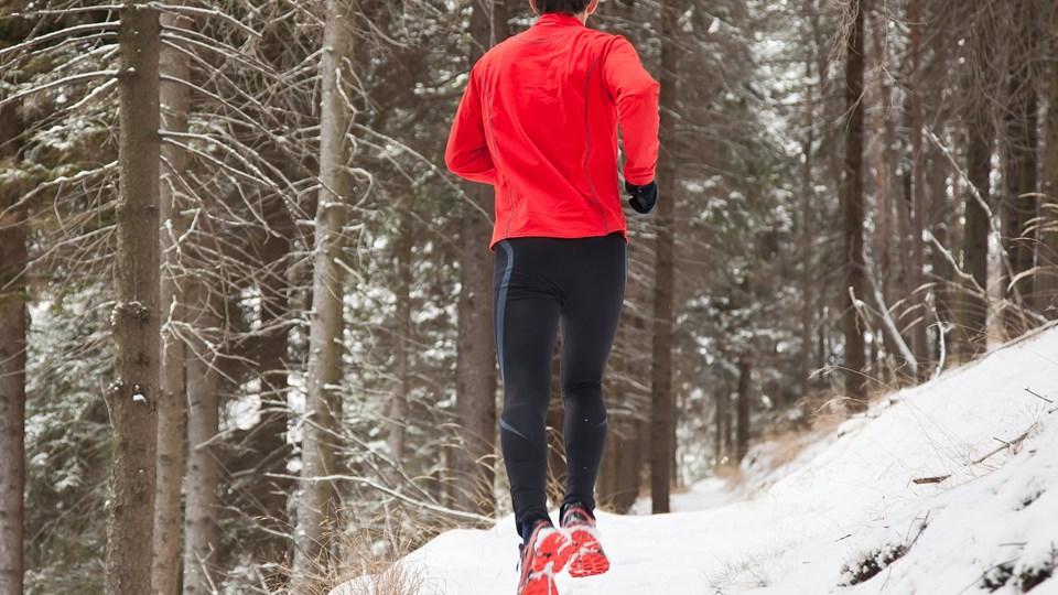 Er du nybegynder som løber, skal du ikke bruge musik til at ignorere kroppens signaler, hvis den er for presset. (Modelfoto) Colourbox/Free