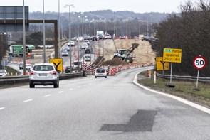 Fem års vejarbejde er slut: Her er dato for åbning af Egnsplanvej