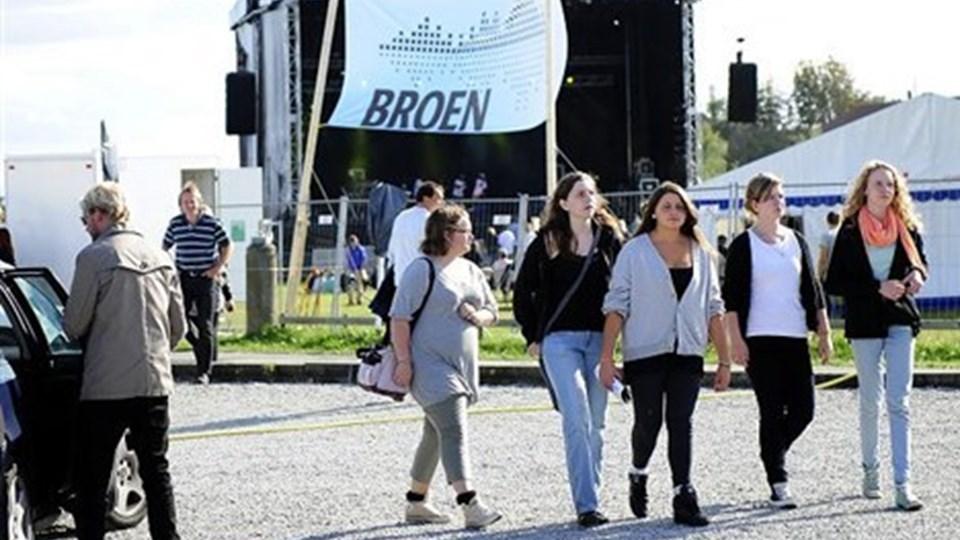 FESTIVALEN BROEN, der blev afviklet på begge sider af Vilsundbroen 4. september, var en succes, konkluderer de unge arrangører. Arkivfoto