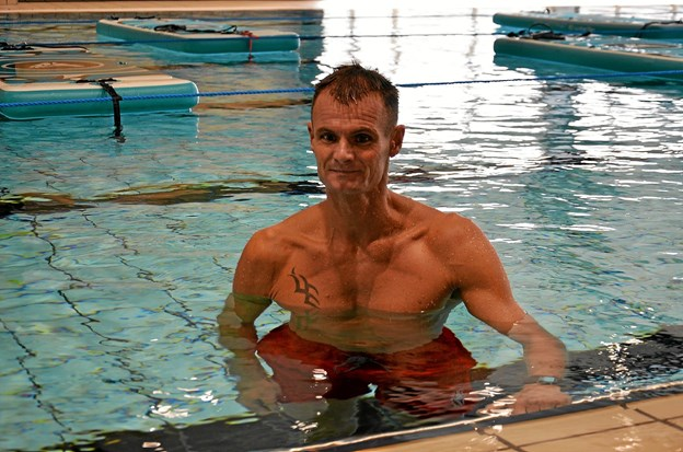 Tim Borup-Pedersen er aktivitetsmedarbejder i Arden Hallerne - både til vands og til lands... Foto: Jesper Bøss