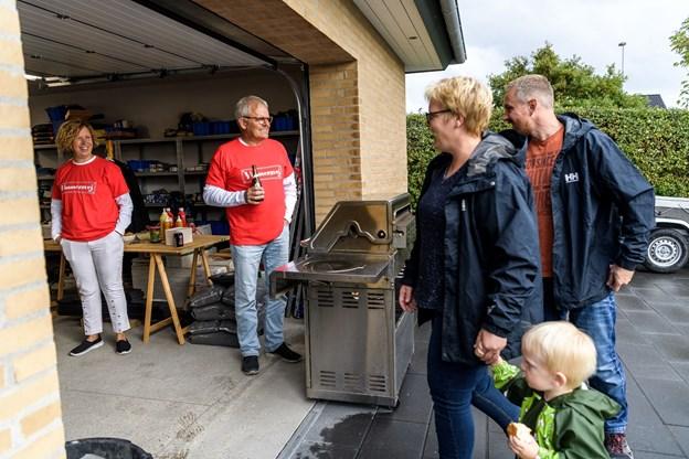 Torsdag eftermiddag fik Thisted Kommune et nyt vejnavn.Foto: Nicolas Cho Meier