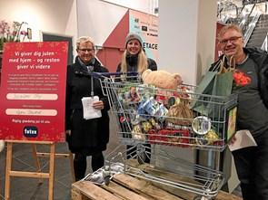 Der samles ind i butikker til jul for socialt udsatte