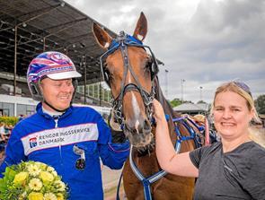 Hest og træner fra Thy til Dansk Trav Derby 2019