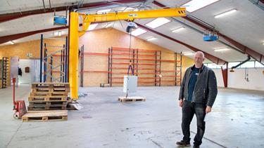 Fra 400 til 1485 kvm: Bedre plads sparer tid i stålvirksomhed