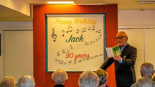 Jack - alias Kristian Dinesen holdt 90 års fødselsdag og mindedes gamle dage. Foto: Mogens Lynge