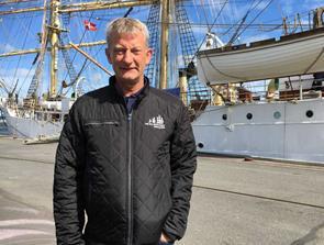 Tilfreds eventchef: God start på Tall Ships - trods blæst