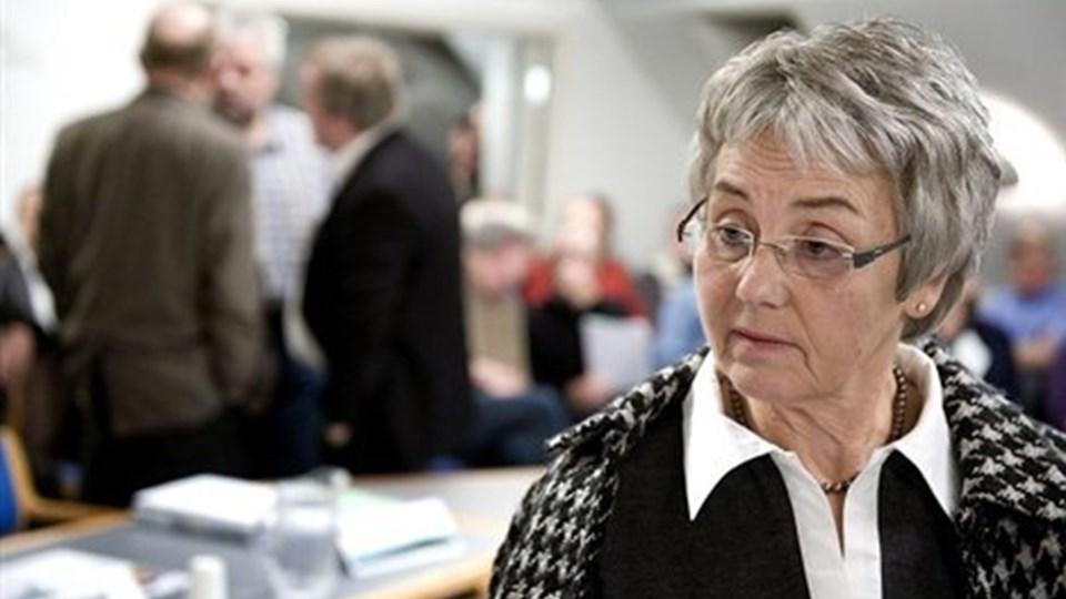 Anny Winther (V), borgmester i Rebild, er ikke vild med det, men vil alligevel søge om at måtte hæve skatten i Rebild næste år. Arkivfoto: Lars Pauli