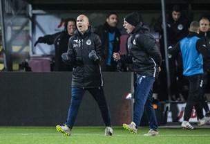 Superligaens yngste træner fik sin ilddåb: - Jeg har præget klubben positivt