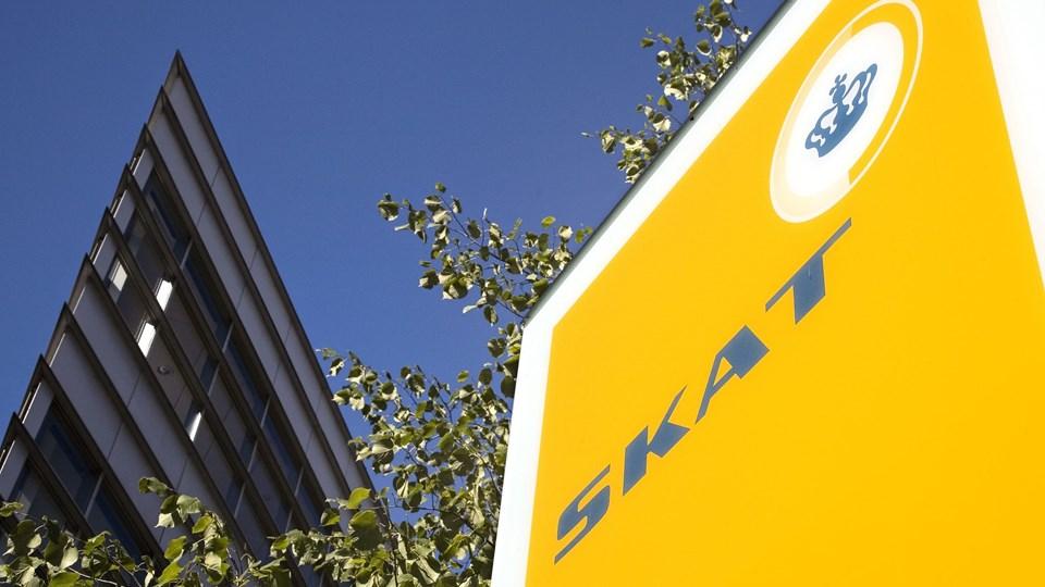 250 har søgt fratrædelse fra Skat. Arkivfoto