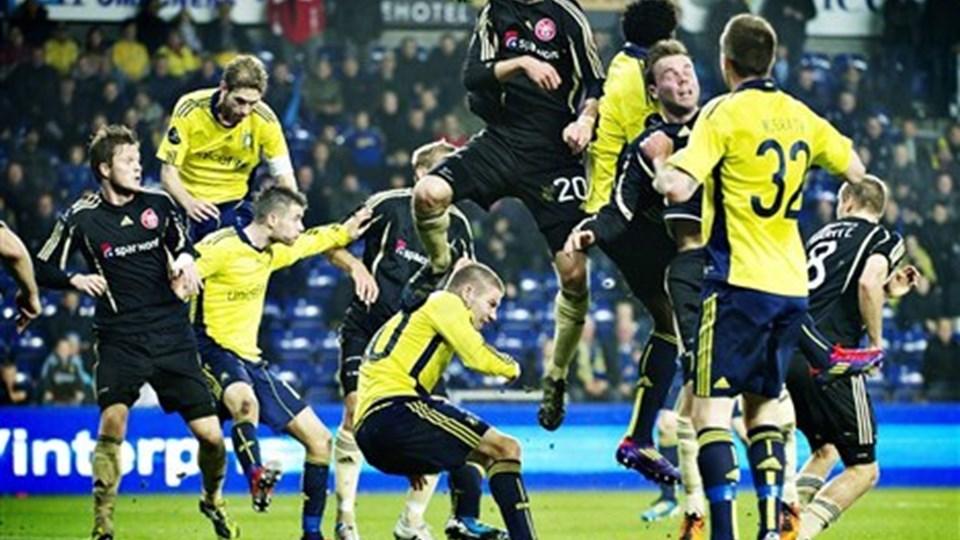 Brøndby-spillerne bør ikke frygte for deres løn, forsikrer klubbens direktør. Foto: Scanpix