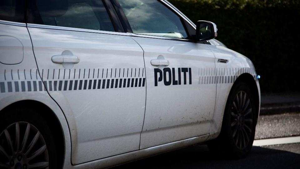 Politiet måtte afspærre en landevej nær Struer efter en voldsom ulykke onsdag. Foto: Free/Colourbox/arkiv