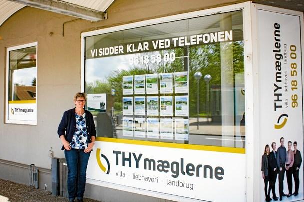 THYmæglerne åbner udstillingslokale på Thyholm