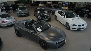 Flexleasing af eksklusive luksusbiler er populært