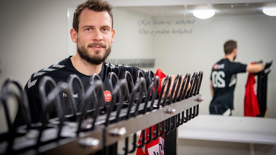 Mads Christiansen er tilbage i velkendte rammer hos Aalborg Håndbold. Foto: Kim Dahl Hansen