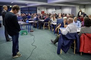 120 borgere kom til borgermødet i Skørping - se billederne
