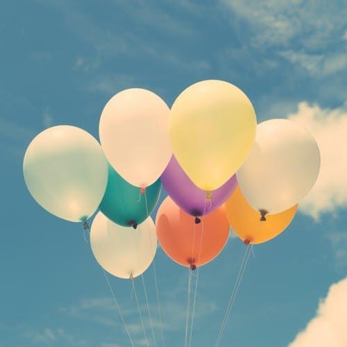 Brug balloner til din næste fest