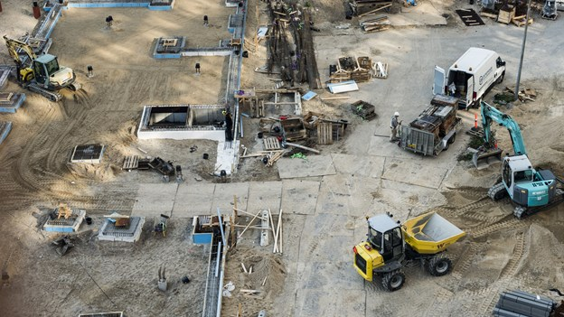 København vil kræve miljøvenlige maskiner på byggepladser