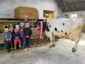 Kåstrup-ko runder de 100.000 kg mælk