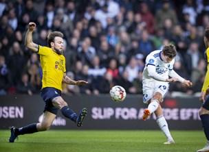 FC København indhentede og slap fra Hobro i Parken