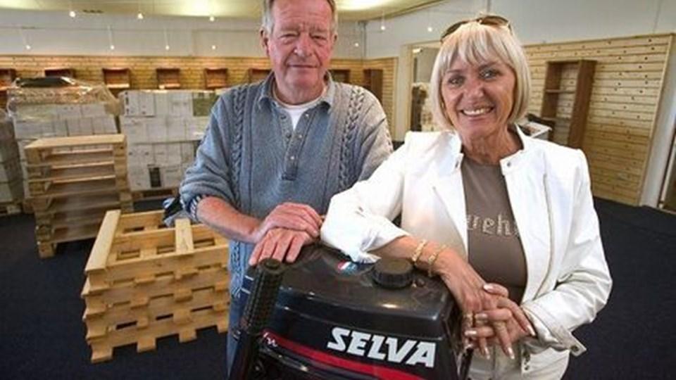 Ulla og Peter Averhoff er flyttet til Havnevej 13 i Skagen. Arkivfoto: Bent Jakobsen