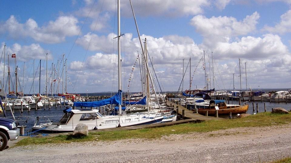 Udvikling af Amtoft Lystbådehavn er et eksempel på et lokalt initiativ, der støttes af Thisted Kommune. Arkivfoto