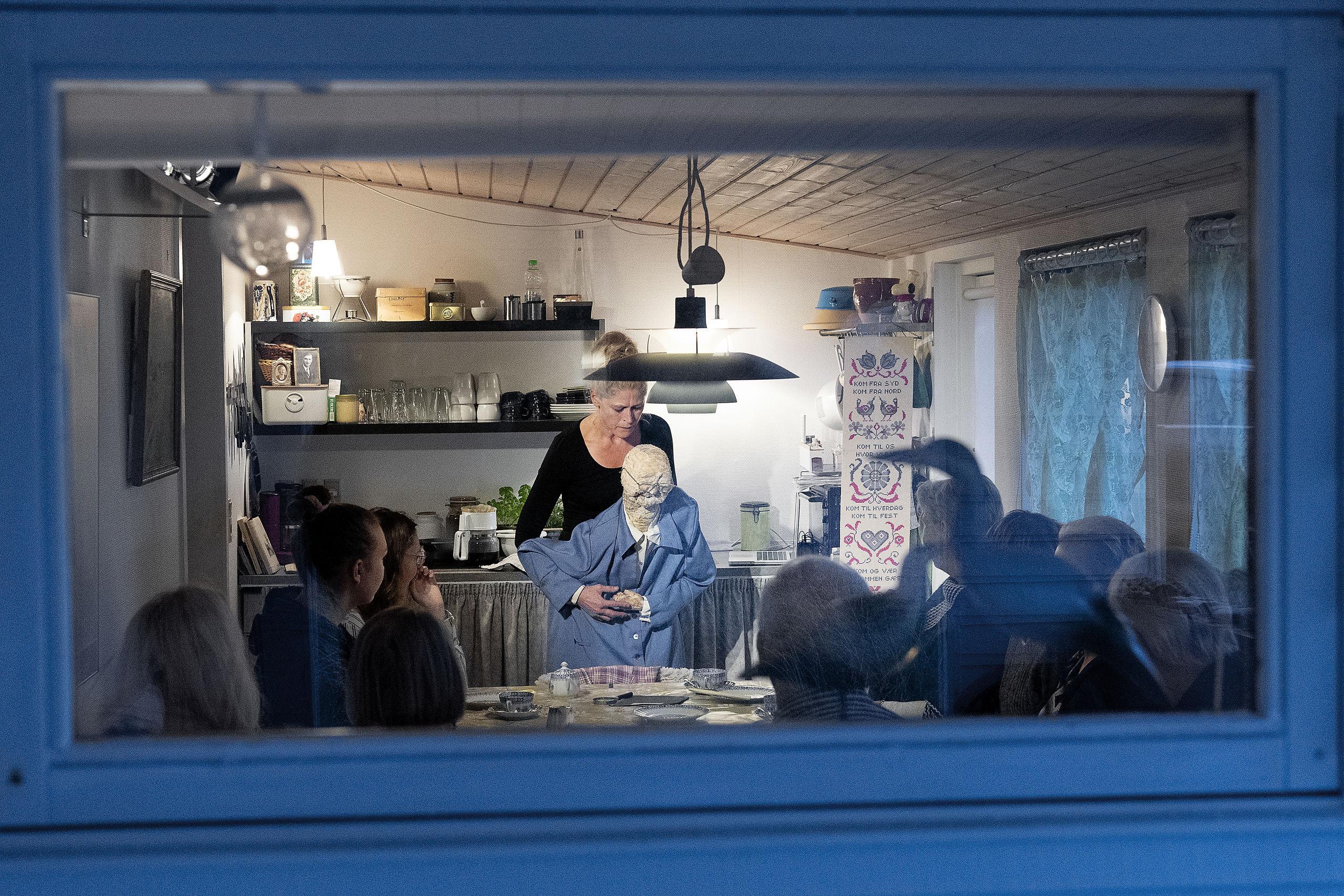 Site-Specific Theatre: Det lyder som New York - men foregår i et køkken i Thy