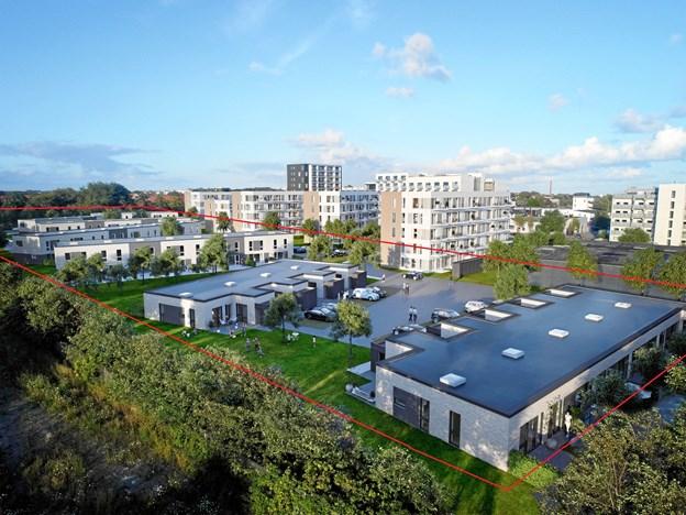 En af de større transaktioner, Colliers Aalborg formidlede i 2018, var Rygård Park i Nørresundby, et nybyggeri bestående af 48 rækkehuse.