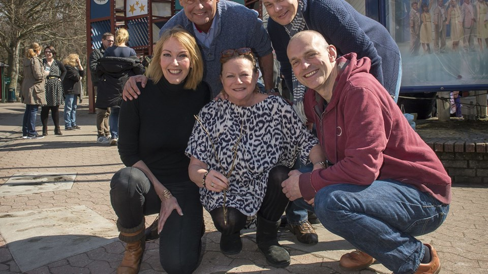 Hele holdet med Lisbet Dahl, Ulf Pilgaard, Ditte Hansen, Niels Olsen og Andreas Bo glæder sig som altid til at komme til byen og møde nordjyderne med fest og festivitas