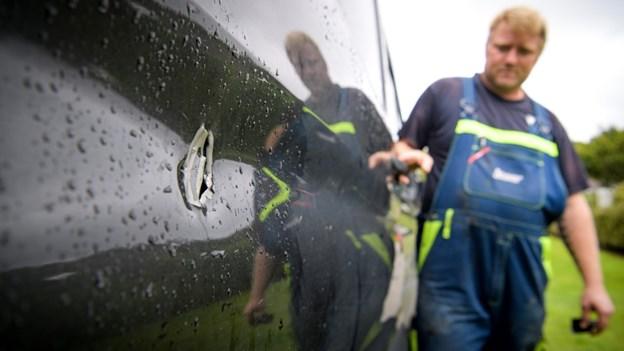 Professionelt indbrud i håndværkerbiler: - De har været kolde i røven