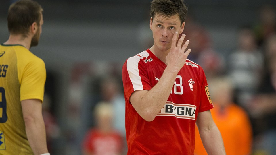 Hans Lindberg føler ikke, han har spillet sig af landsholdet, og han er skuffet over at være vraget til OL. Arkivfoto: Frank Cilius, Scanpix