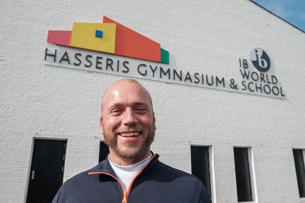 Kammeraterne fra 3x er ikke det mindste overraskede over, at deres gamle klassekammerat nu står i spidsen for Hasseris Gymnasium.