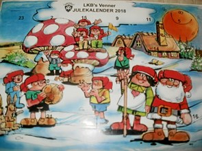 Støtteforening sælger julekalender