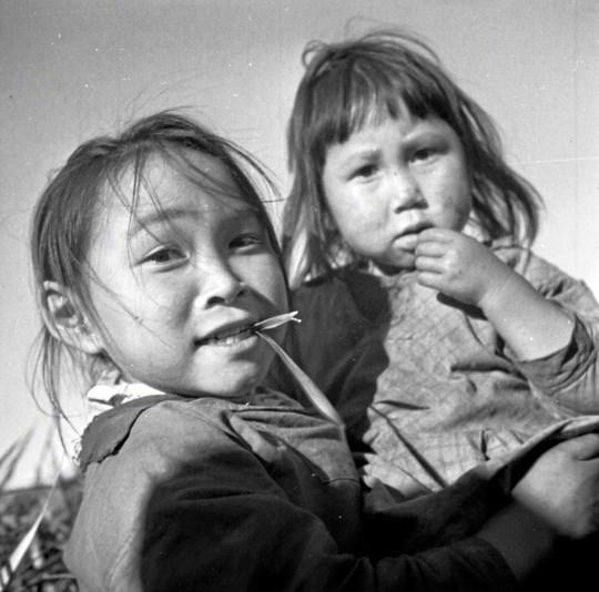 Jette Bangs billeder fra Grønland er optaget i årene 1938-1939. Privatfoto