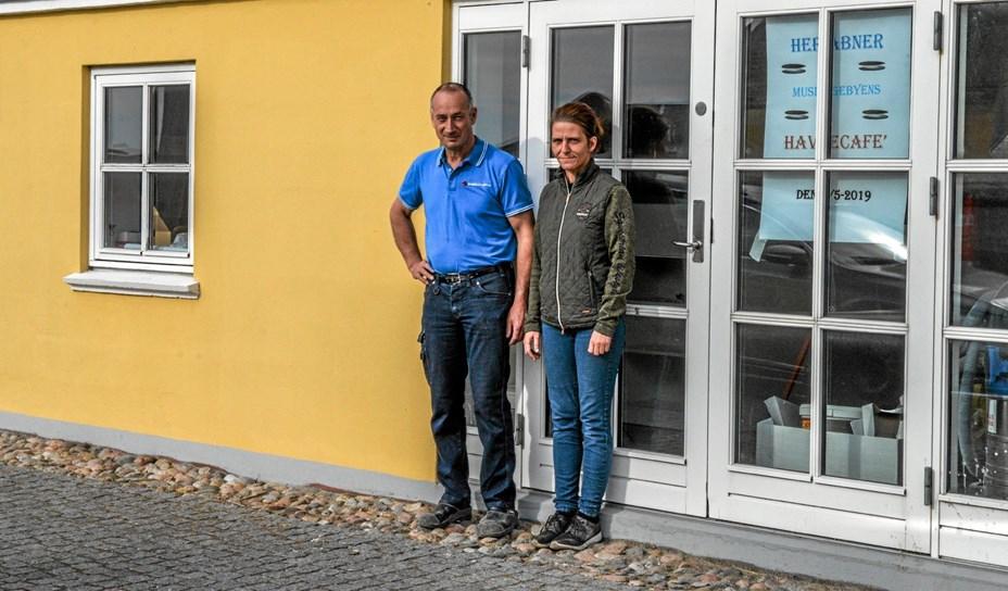 Ny café åbner på havnen