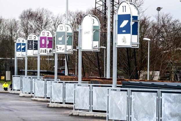 Affaldet kan sorteres i 40 forskellige typer. Torben Hansen