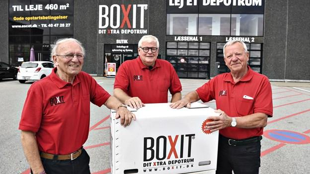 Hos Boxit i Hjørring er yngste mand 70: - Vi stopper ikke, før vi dør