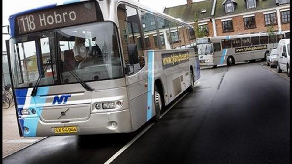 Der var ingen penge fra regeringen til trængte busser. Arkivfoto: Lars Pauli