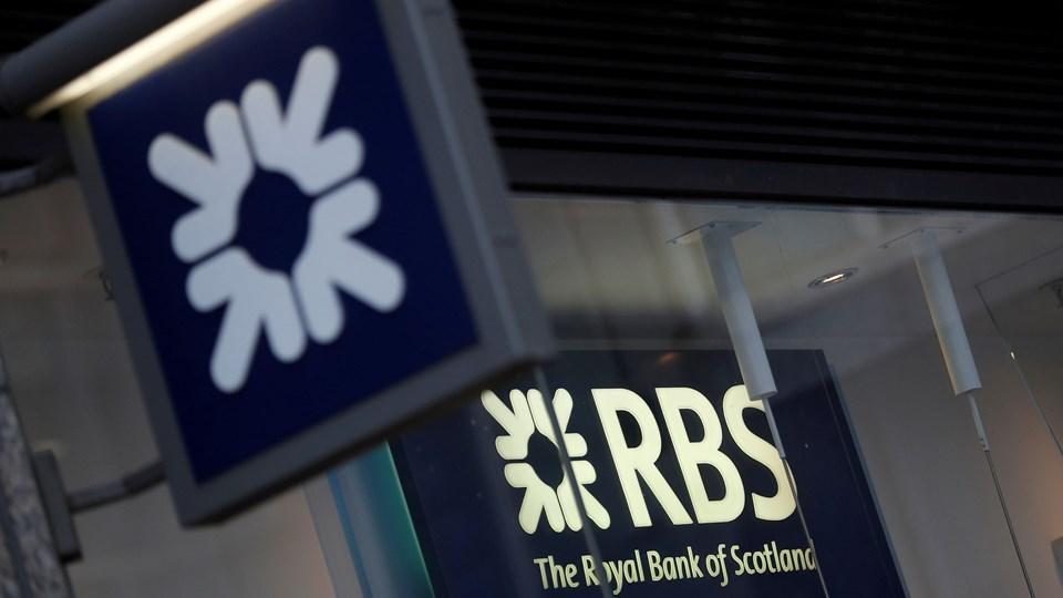 Royal Bank of Scotland bliver kritiseret voldsomt i en rapport fra det britiske finansministerium. Foto: Reuters/Peter Nicholls