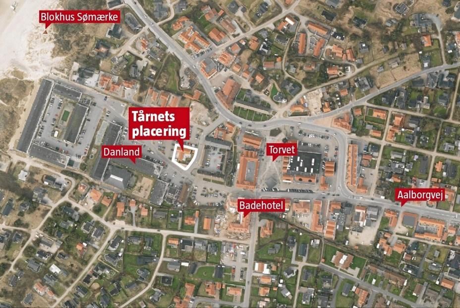 Politikere siger nej til tårn i Blokhus