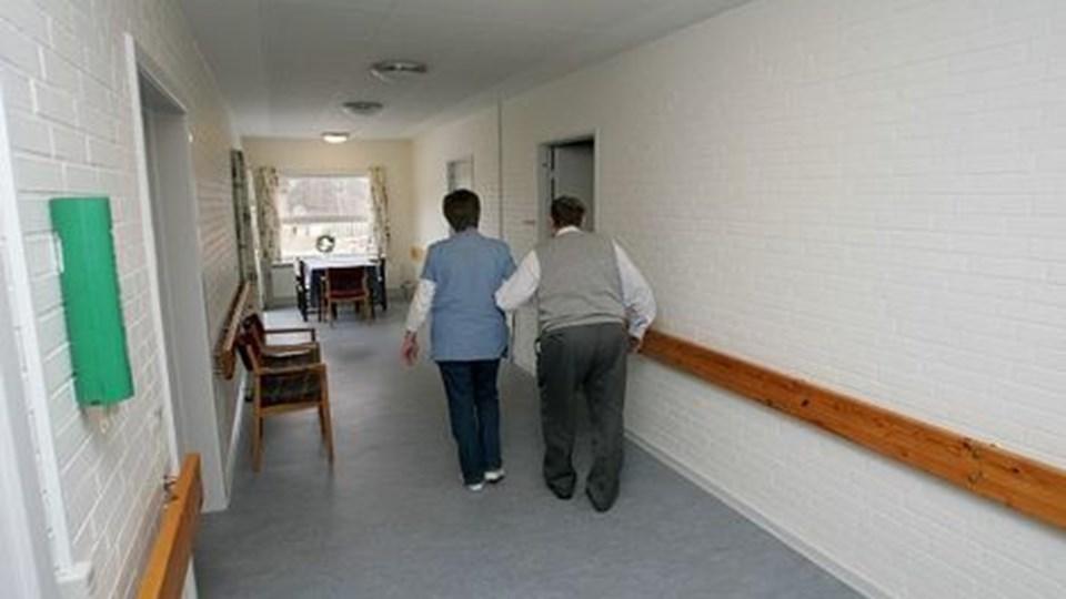 Plejehjemmene i kommunen får gode skudsmål af tilsyn.Illustration: Kurt Bering