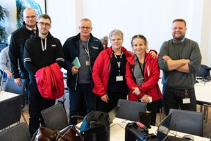 Bussen strejker - men NORDJYSKE er alligevel på havnen i Frederikshavn