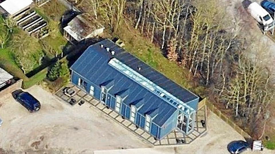 Den nye ejer driver Skovsgaard/Brovst El-forretning videre på adressen Terndrupvej 71 i Brovst. Foto: Skråfoto/Styrelsen for Dataforsyning og Effektivisering