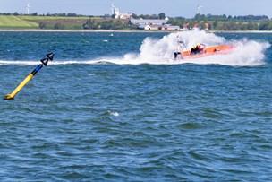 Dramatisk indvielse for redningsstation: Blev sendt ud til livløs sejler